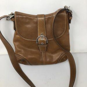 Coach 9480 Soho flap leather bag